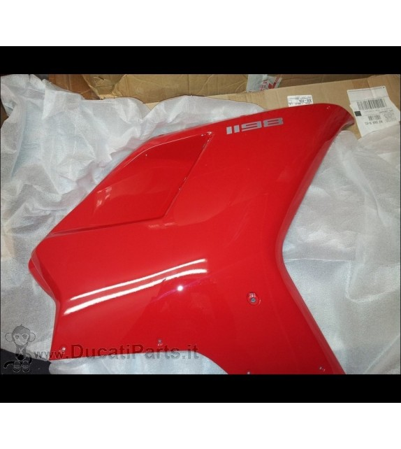 CARENA LATERALE DESTRA DUCATI 1198 ROSSA