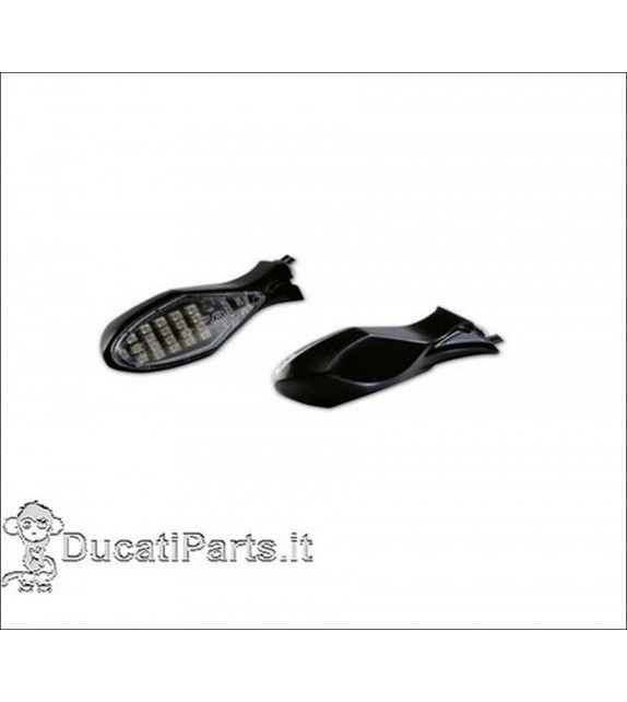 Kit Frecce in Alluminio a Led Per Ducati Hypermotard 96628207b