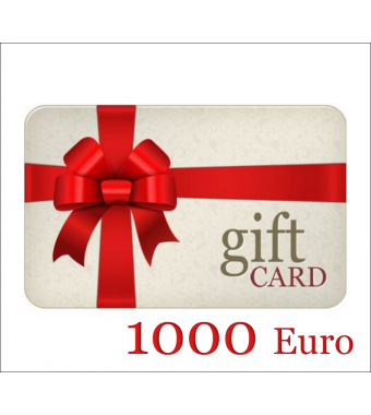 GIFT CARD DucatiParts.it 1000 EURO