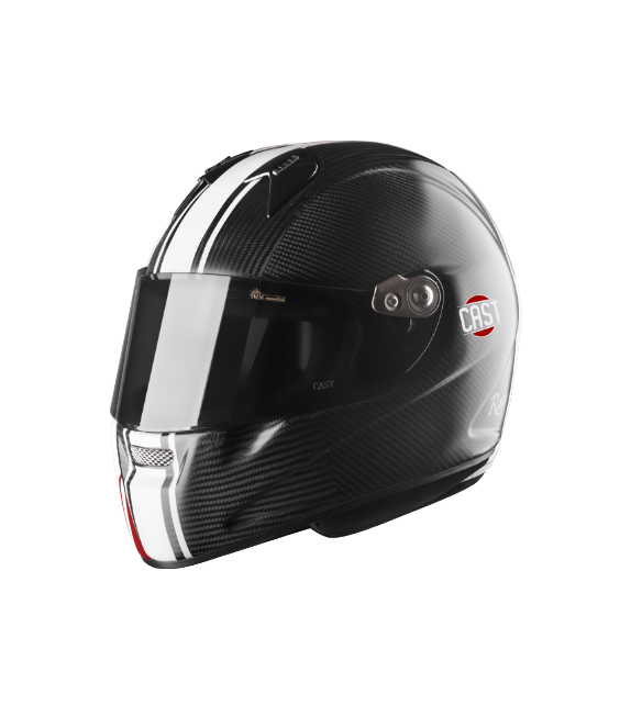 Helmet Full Face Cast CM5 CARBON RACE CBO