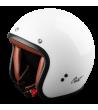 Helmet  Vintage Cast white TR 001 cafè racer