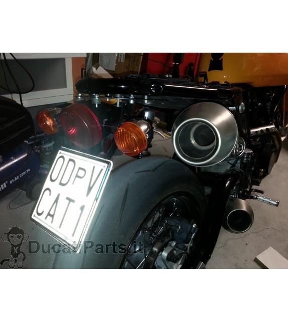 PORTATARGA SPECIFICO DUCATI SPORT CLASSIC 1000 GT 1000 PAUL SMART  BIPOSTO S