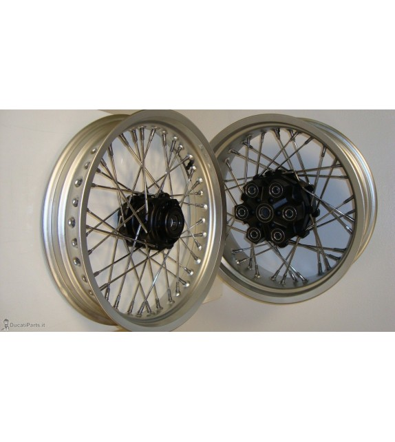 SPOKE WHEELS Ducati Monster / Sport Classic / Paul Smart Alpina Aluminium